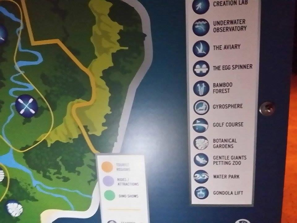 A map of jurassic world has leaked online geektyrant via cbm jurassic world gumiabroncs Choice Image