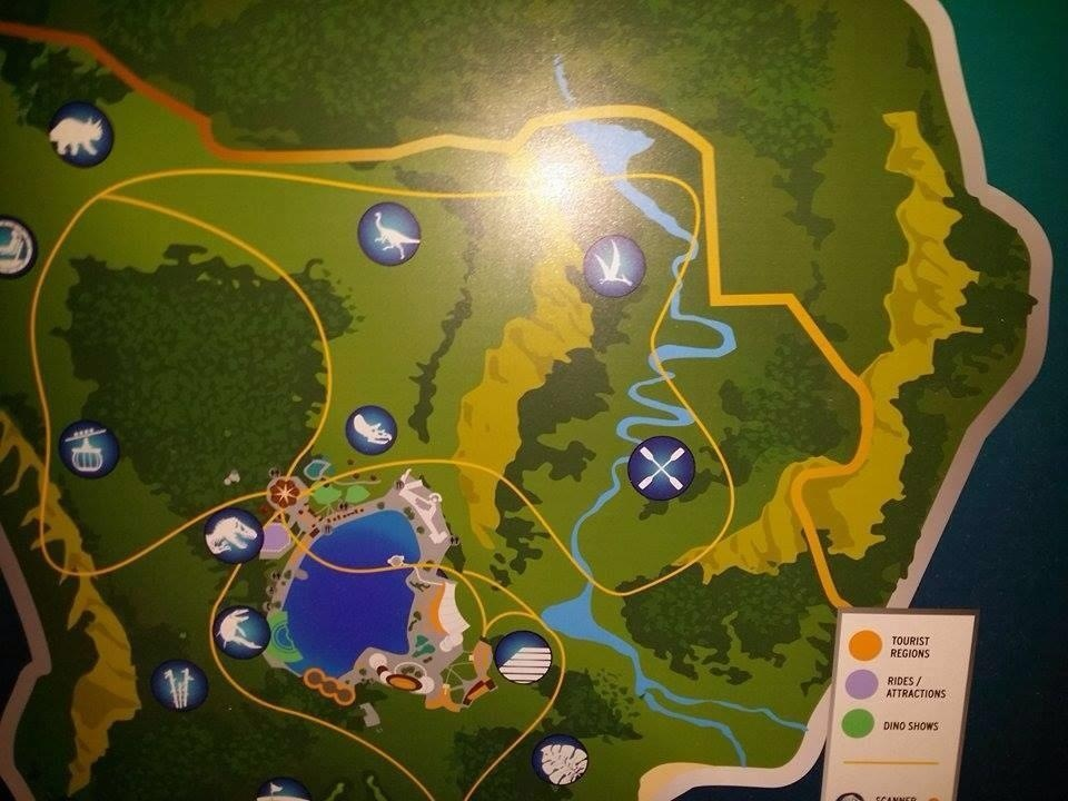 A map of jurassic world has leaked online geektyrant qrusgn3g gumiabroncs Images