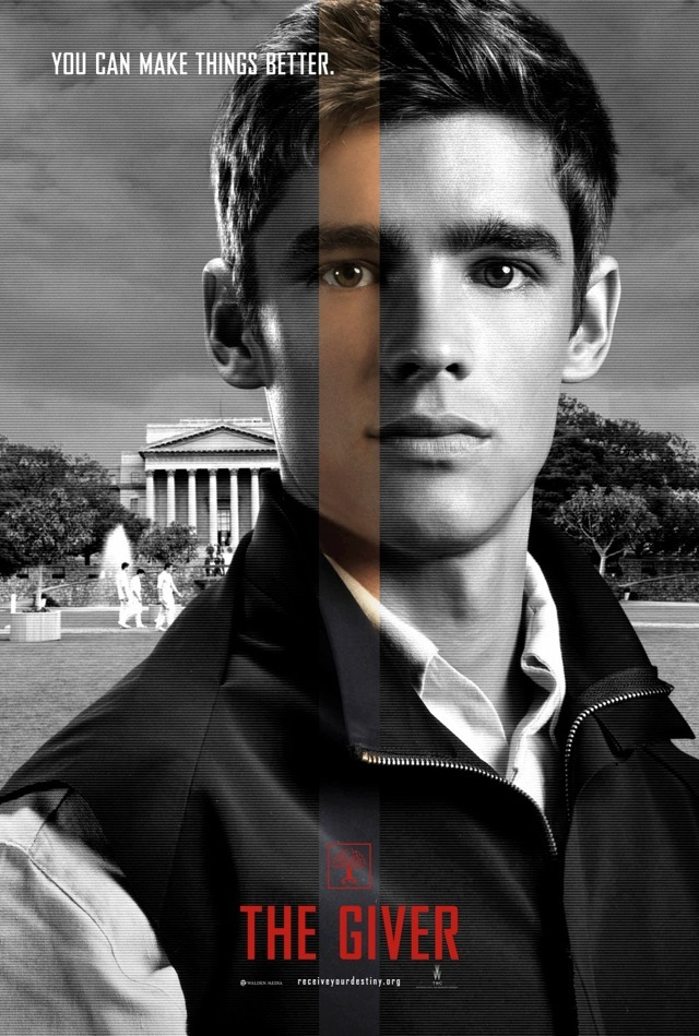 THE GIVER: 8 Face Posters and 3 High Res Color Images ...