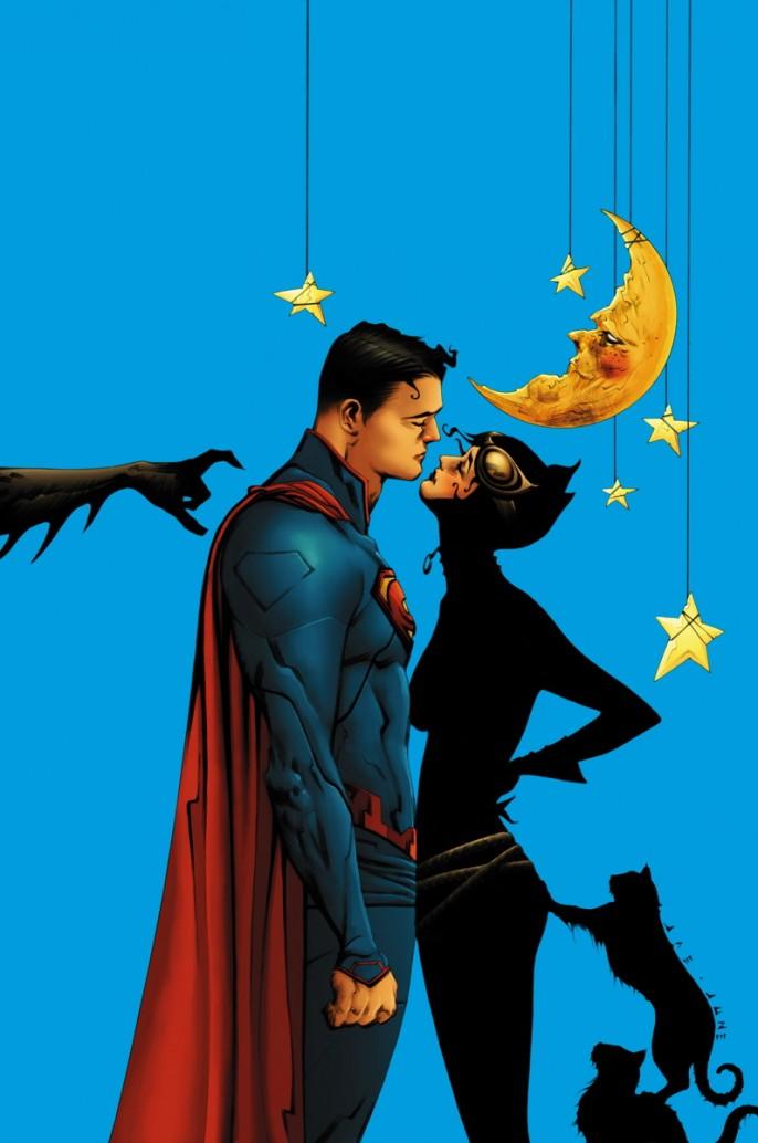 amusing-batman-superman-and-catwoman-comic-art