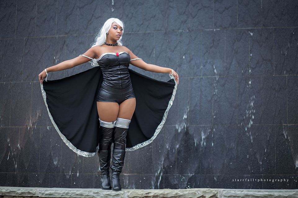 Cassian Cosplay  is Storm | Photo by:  Starrfall Photography