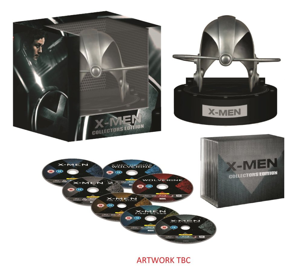 MEN  DAYS OF FUTURE PAST Blu-ray Collectors Set RevealedX Men Days Of Future Past Set