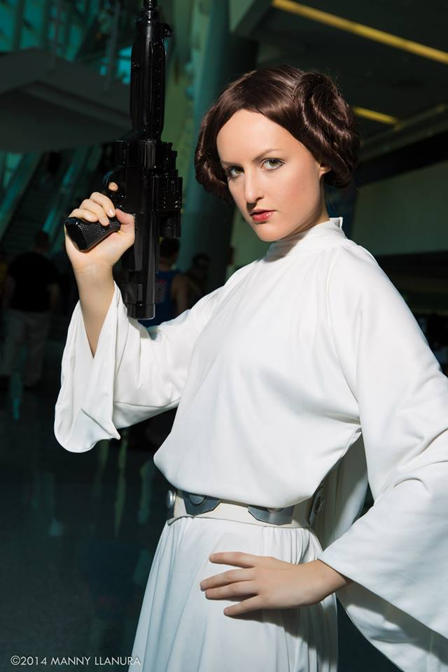 ArtfulAnarchy  is Princess Leia — Photo by  Wbmstr