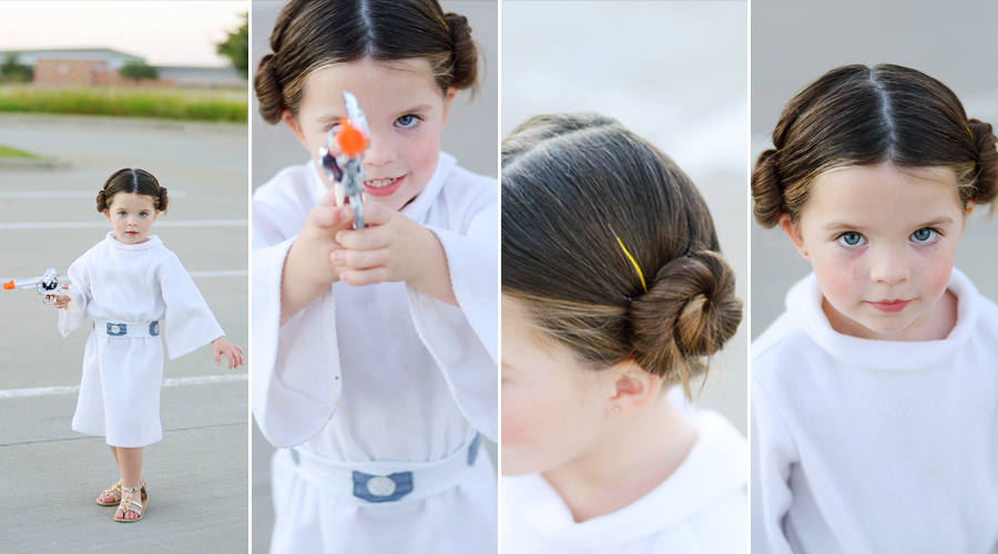 Breckyn is Princess Leia — Photo by  Auburn Soul