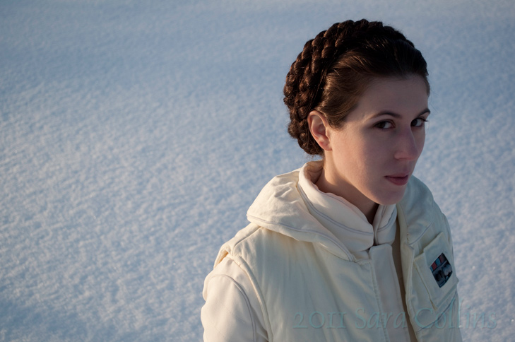 Thatbloodypirate  is Princess Leia — Photo by  Lisanders  — Hair by  YetAnotherCatGirl