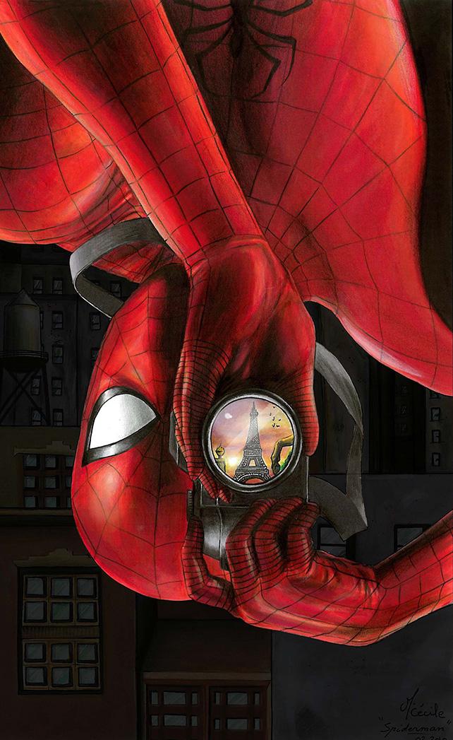spider-man-in-paris-fan-art-by-cecile-morvan