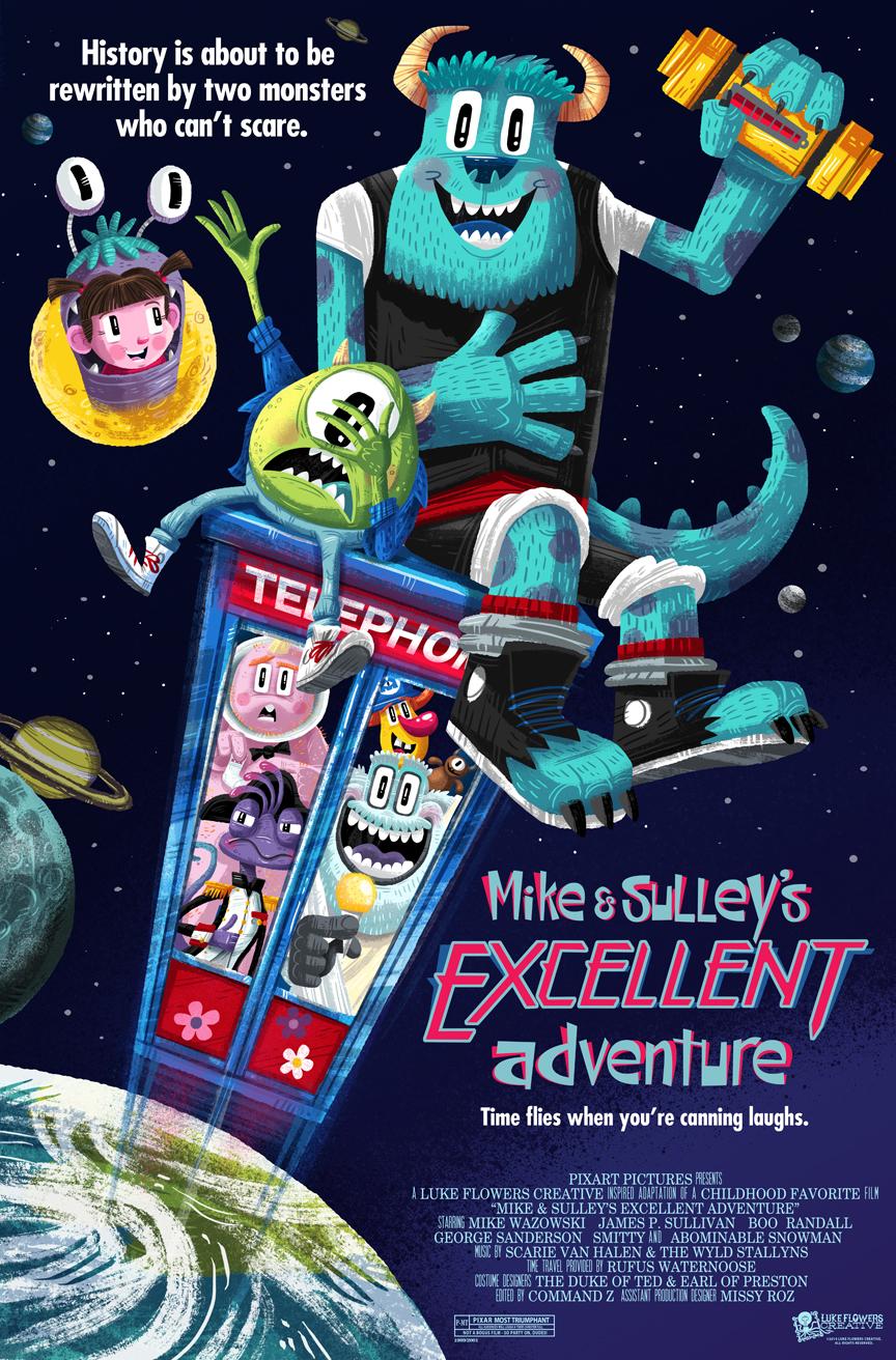 Amusing Pixar Poster Mashup Series5
