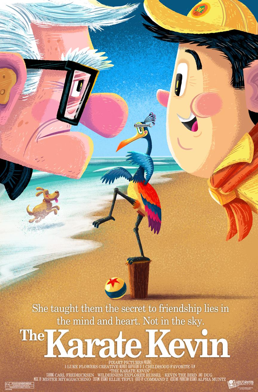 Amusing Pixar Poster Mashup Series4