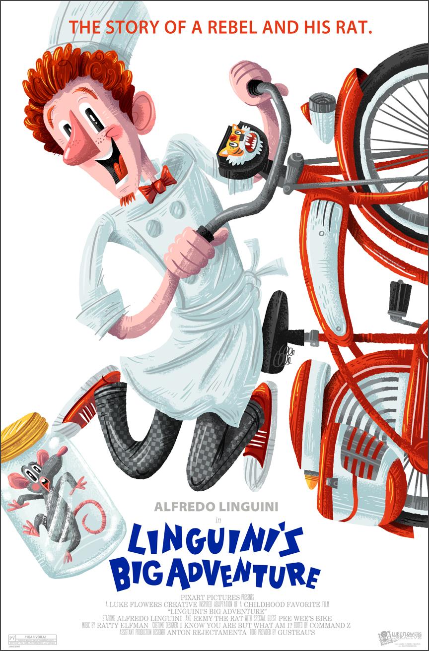 Amusing Pixar Poster Mashup Series2