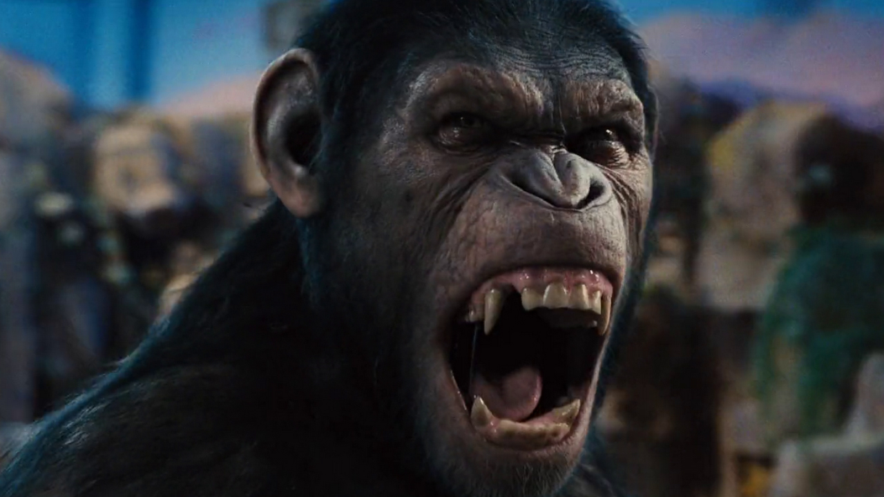 Dawn of the planet of the apes tv spot dont shoot geektyrant dawn of the planet of the apes tv publicscrutiny Gallery