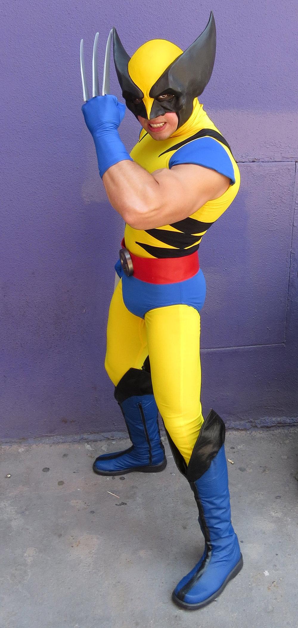 Gera Rodriguez  is Wolverine