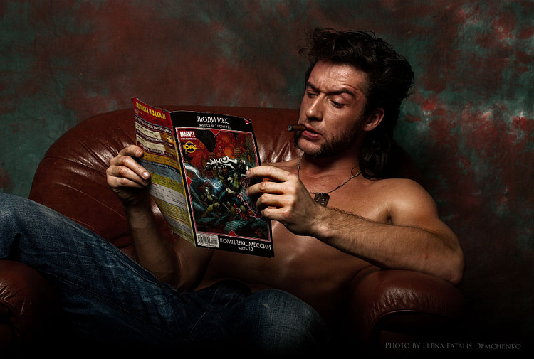 Ilya Artemov is Wolverine — Photo by  Fatalis-Polunica