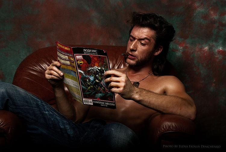 Ilya Artemov is Wolverine — Photo by Fatalis-Polunica