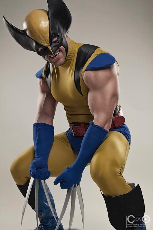 Jonathan Carroll  is Wolverine — Photo by  Dru Phillips
