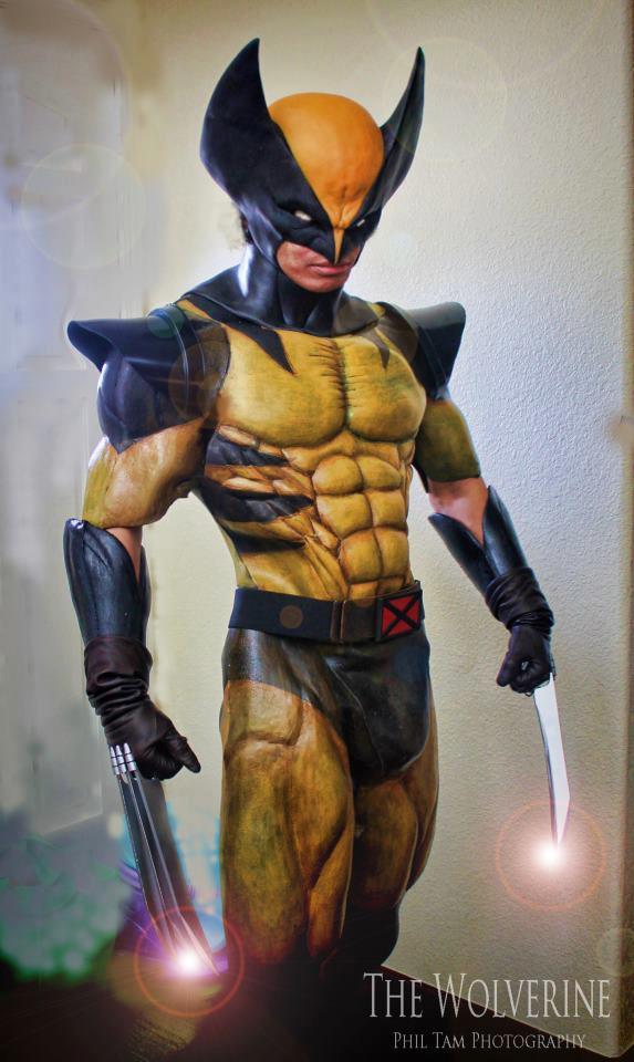 Phil Tam  is Wolverine