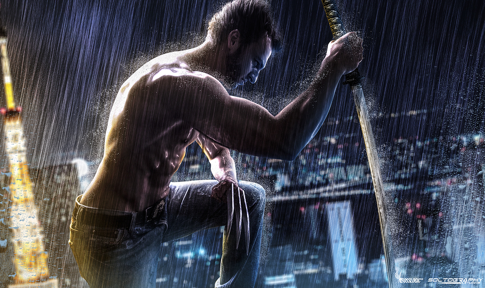 Logan-V  is Wolverine — Photo by Soltography  — Photo Editing by  BossLogic