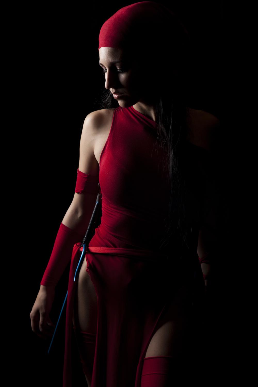 Jeanne Killjoy is Elektra | Photo by:Superhero Photography