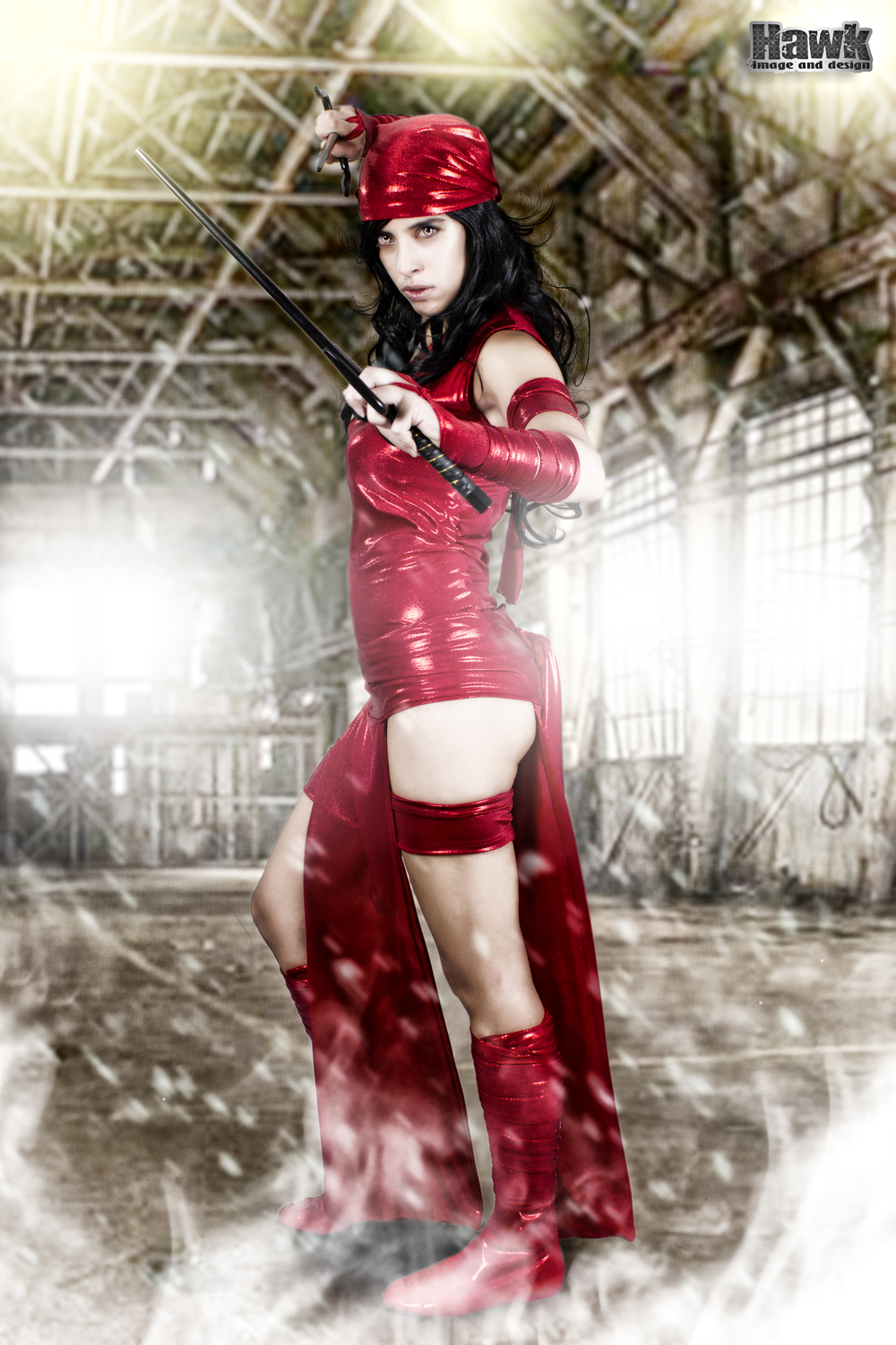Larxenne is Elektra | Photo by:Hawk Image and Design