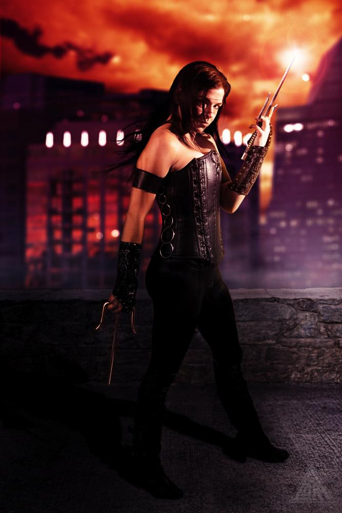 Jennifer is Elektra | Photo by: Cory McBurnett