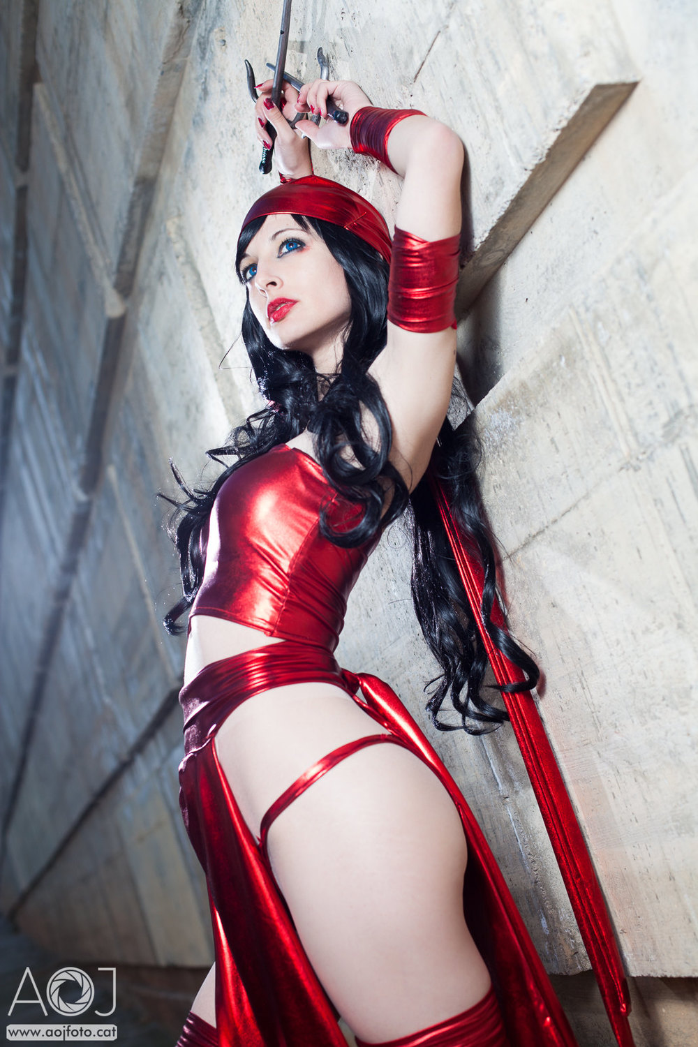 Ivette Puig  is Elektra | Photo by:  Angel Ortuno