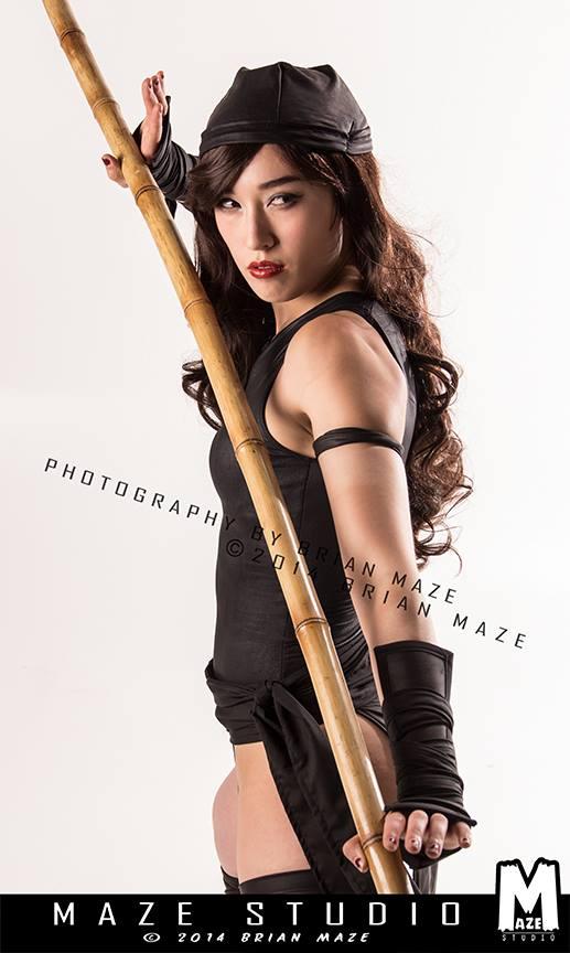 Kris Lee is Elektra | Photo by: MAZE Studio