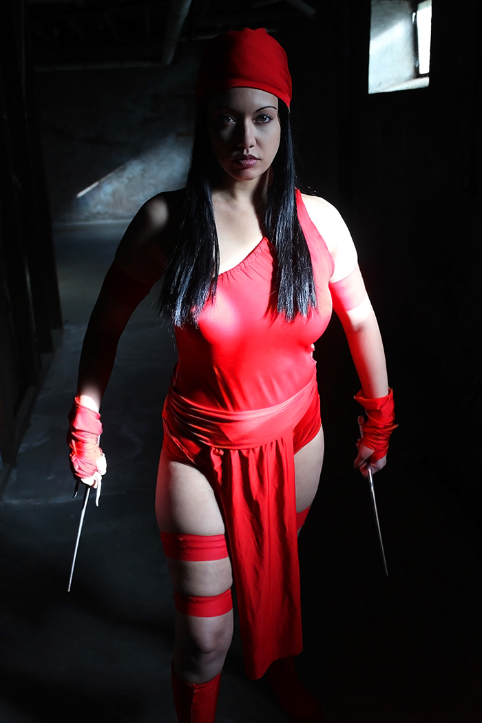 Victoria Cosplay is Elektra | Photo by: Green House Photography