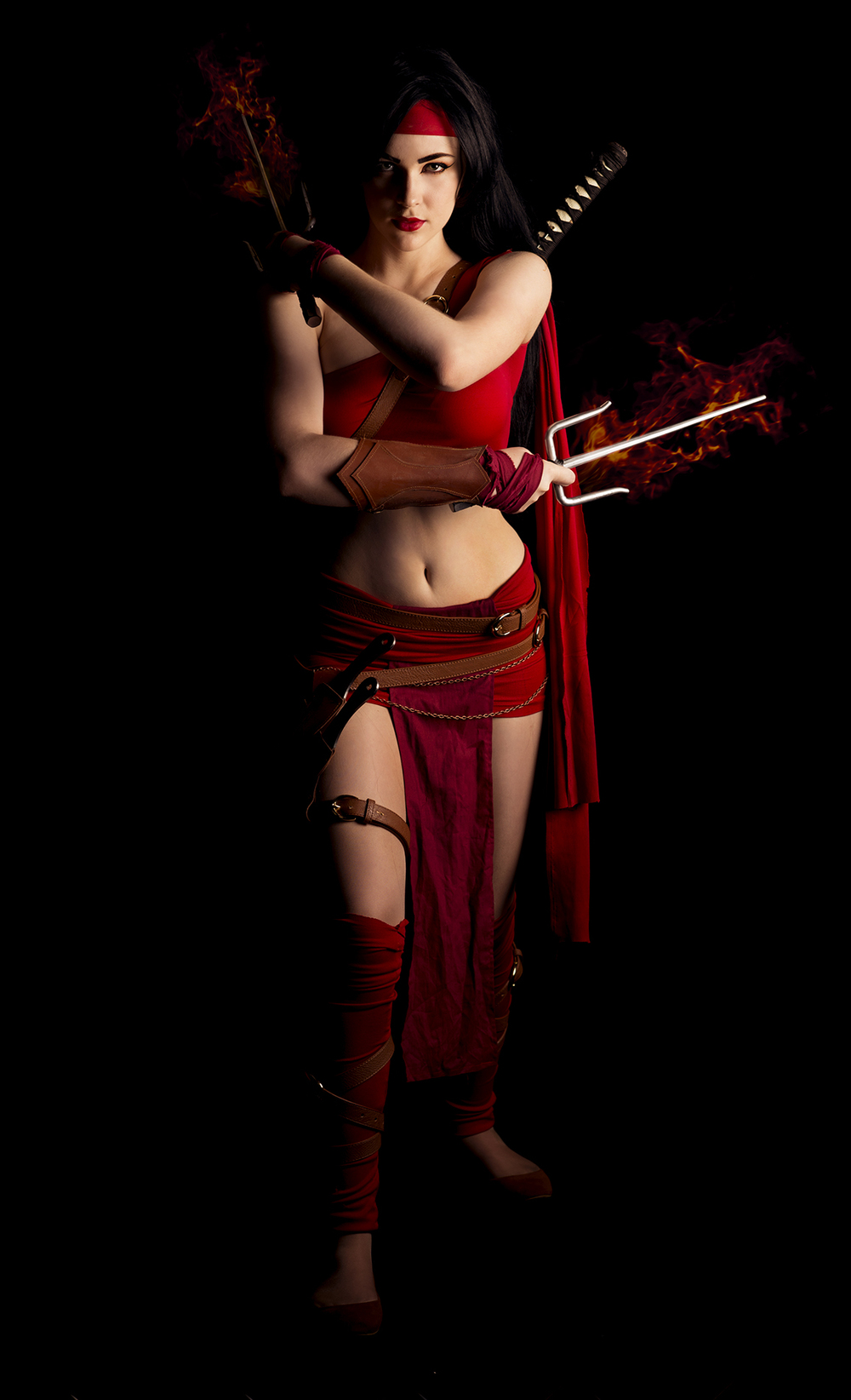 Eve Beauregard  is Elektra | Photo by  WhatABigCamera