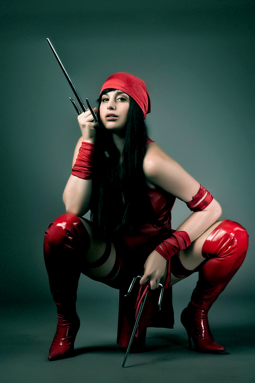 Meagan Marie is Elektra | Photo by: Jeff Spain