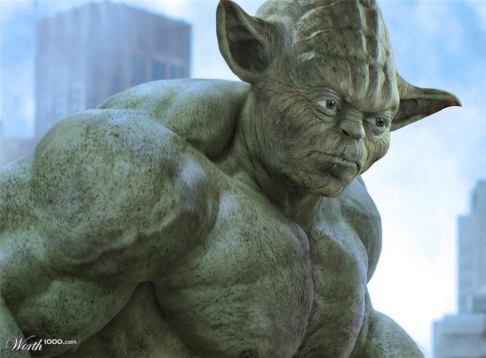 "Yoda Hulk — ""YODA HULK"" by PixJockey"