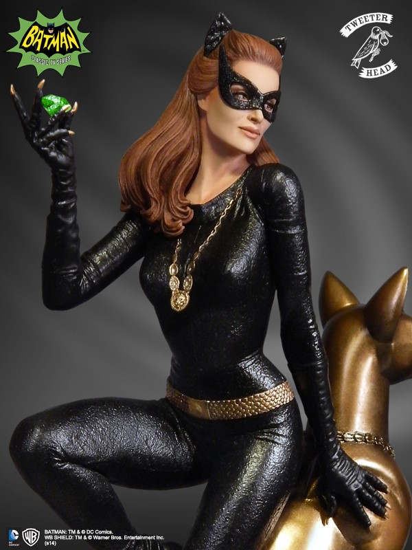 Julie Newmar Catwoman Maquette Is Purrrrfect Geektyrant
