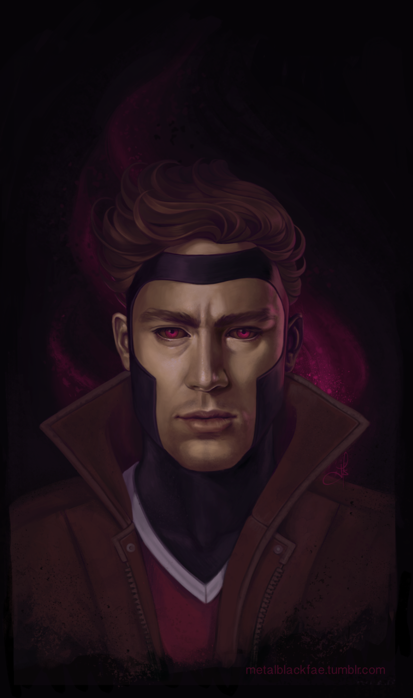 Fan-Made Channing Tatum Gambit Art