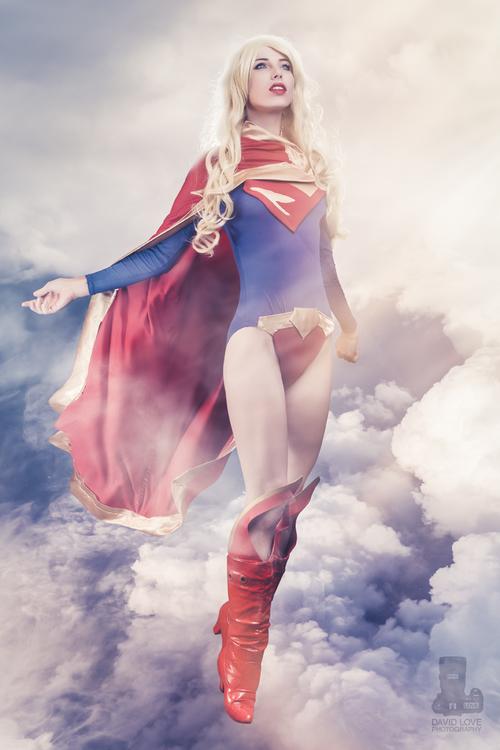 Megan Coffey is Supergirl —Photo By David Love