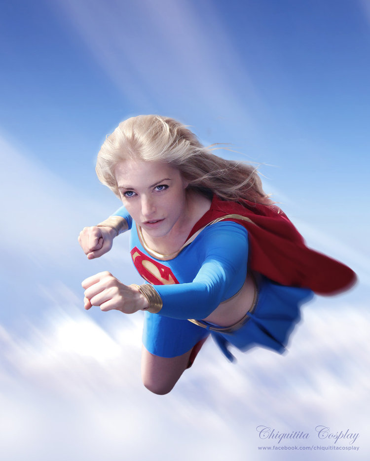 Chiquitita-cosplay is Supergirl — Photo by Dnm5555