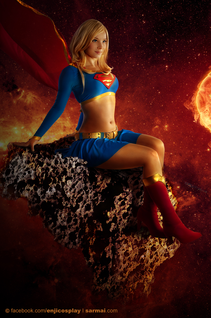 Enjinight is Supergirl — Photo by Sarmai Balazs