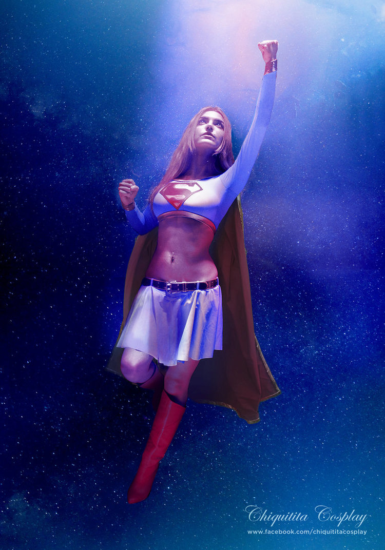 Chiquitita-cosplayis Supergirl — Photo byDnm5555