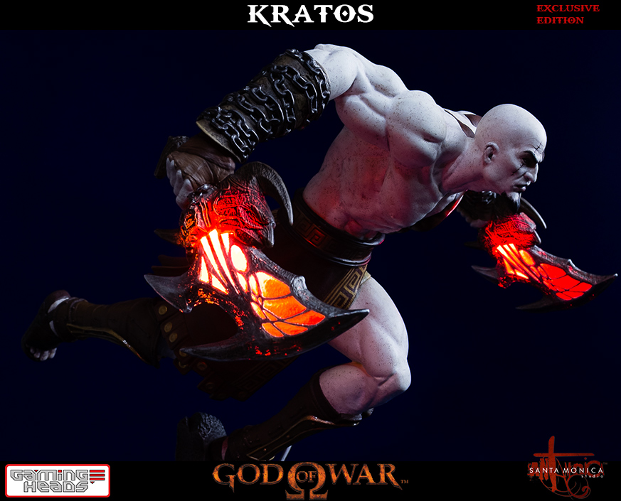God Of War New Kratos Statue Brings The Chaos Geektyrant