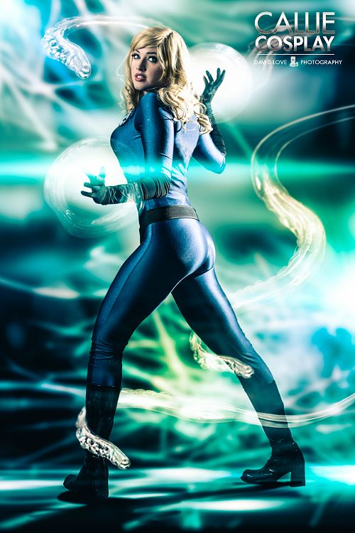 Callie Cosplayis Invisible Woman | Photo by:David Love Photography