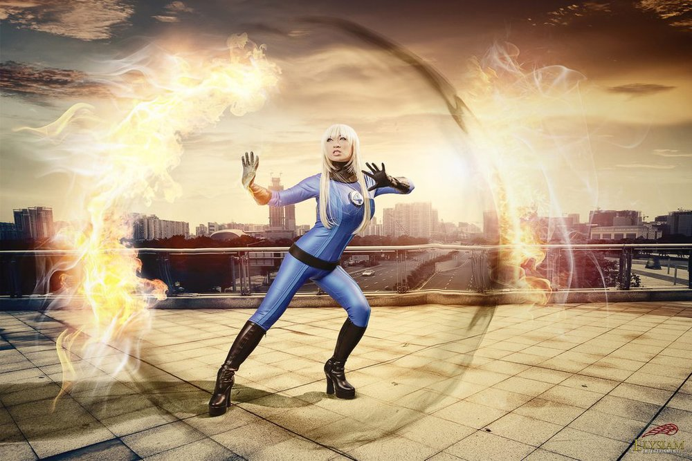 Yaya Han is Invisible Woman | Photo by: Elysiam Entertainment