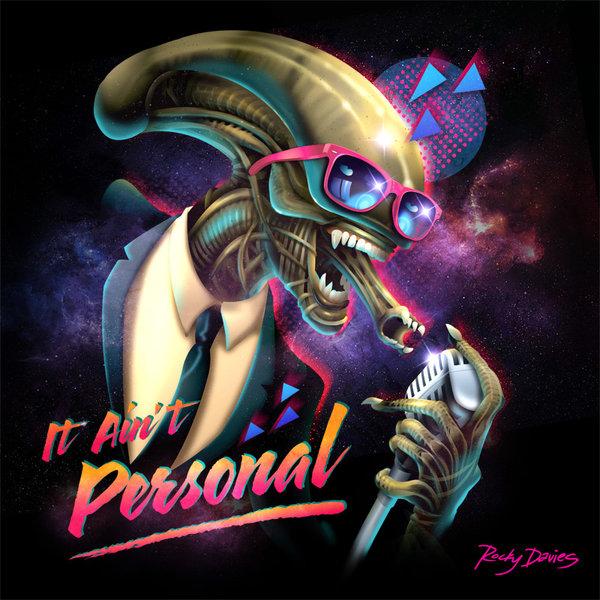 1980s Style Villain Album Cover Art Series by Rocky Davies2