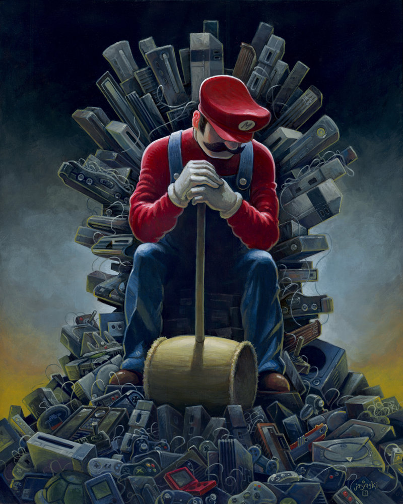 throne of games by aaron jasinski geektyrant