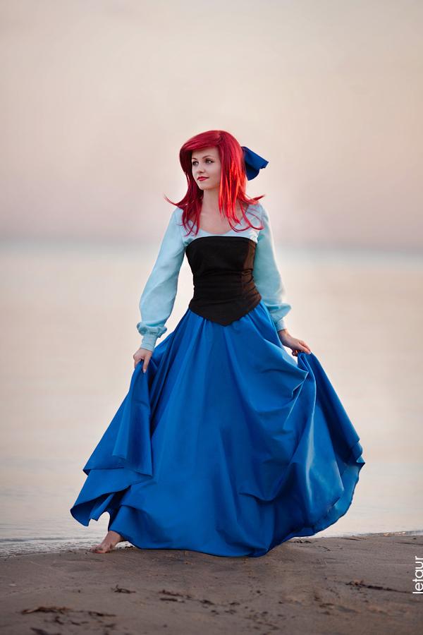 Cheza-flower  is Ariel, The Little Mermaid — Photo by Letaur