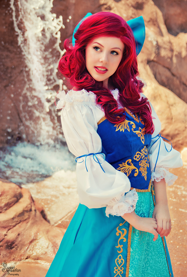 Courtoon  is Ariel, The Little Mermaid — Photo by  EnchantedCupcake