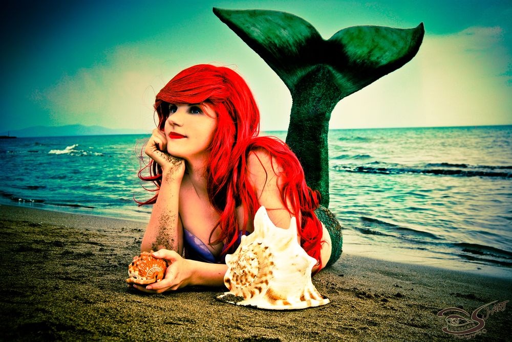 ArielleKay  is Ariel, The Little Mermaid — Photo by  J-Art Jury Squarcia