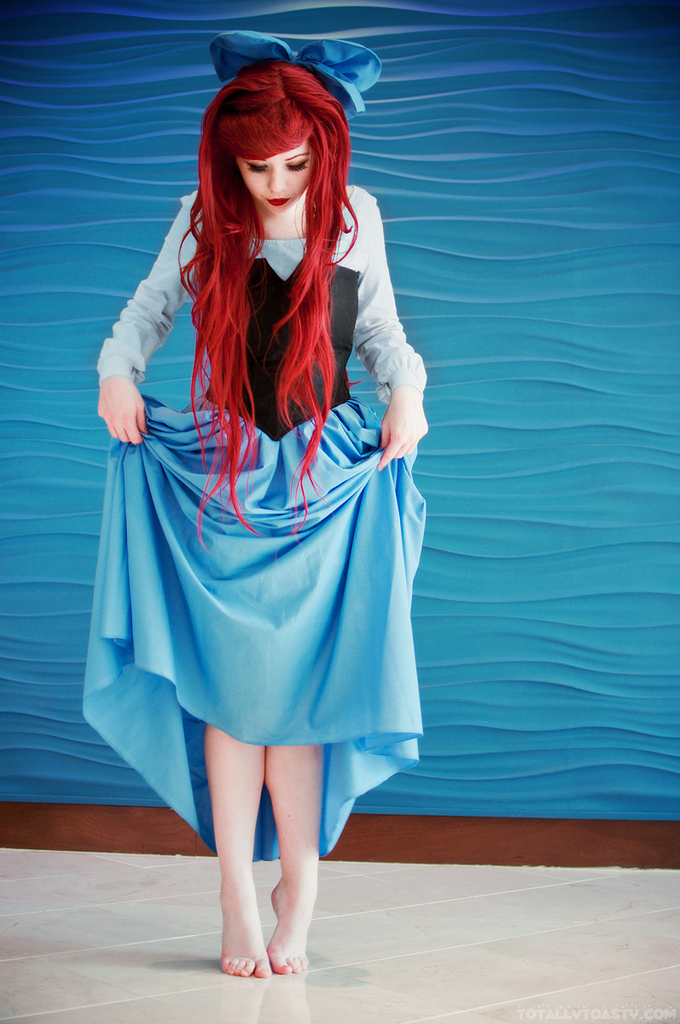 McGinge  is Ariel, The Little Mermaid — Photo by  xRikku-chanx