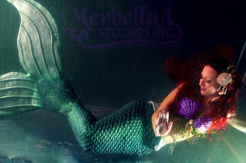 Ariel, The Little Mermaid cosplay by  MerBellas
