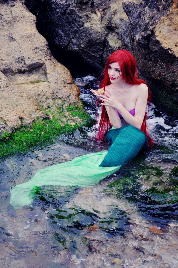 Simca is Ariel, The Little Mermaid