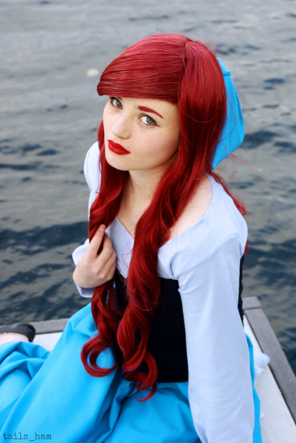 Taylar Hammond  is Ariel, The Little Mermaid — Photo by Yvonne K
