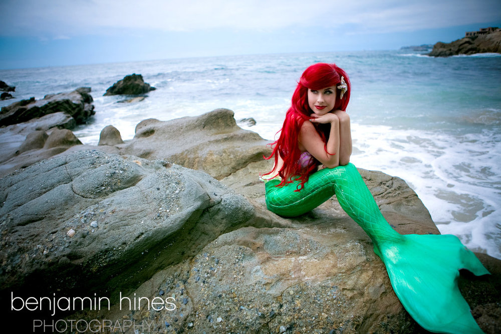 Traci Hines  is Ariel, The Little Mermaid — Photo by  Benjamin Hines