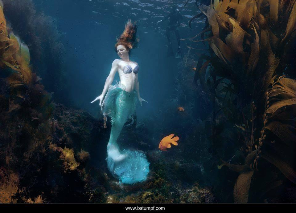 Virginia Hankins is Ariel, The Little Mermaid — Photo byBrenda  Stumpf Photography