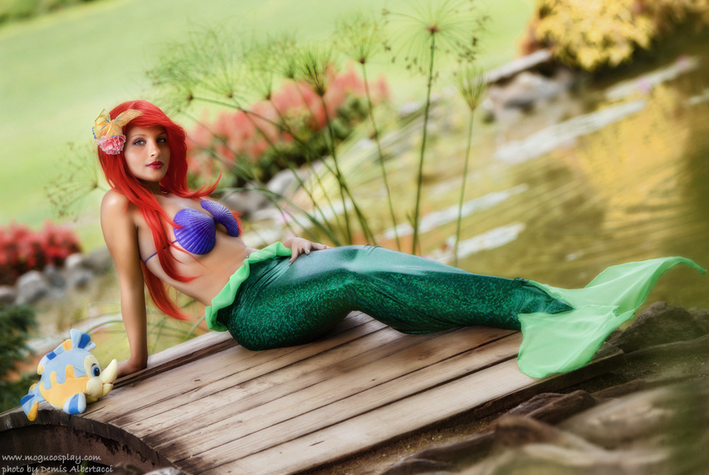Mogu Cosplay  is Ariel, The Little Mermaid